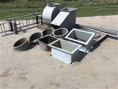 GSI Grain Leg/Bin Parts & Hoppers