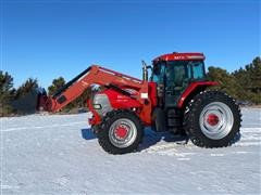 2006 McCormick MTX185 MFWD Tractor & L165 Loader