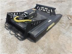 Brush Cutter 6' Rotary Mower Skid Steer Attachment
