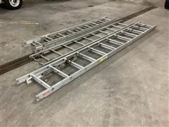 Duo-Safety Aluminum Ladders