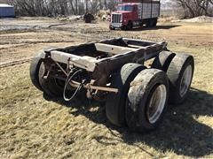 Cutoff Trailer Axles