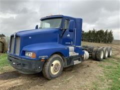 1991 Kenworth T600 Tri/A Cab & Chassis