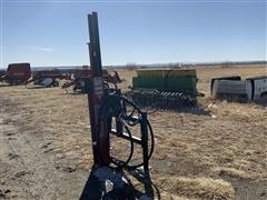 Worksaver HDP-16 Hyd. Post Pounder W/Skid Steer Mounts