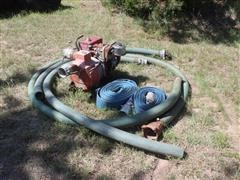 Homelite 1201P3-1B Pump W/Motor