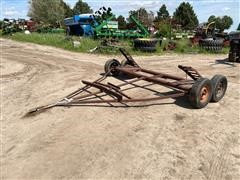 Shop Built Windrower/Swather Trailer
