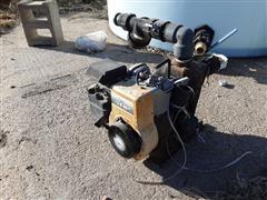 Briggs & Stratton Gas Engine & Transfer Pump