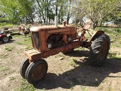 1939 Allis-Chalmers WC 2WD Tractor