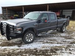 2007 Ford F-350 XLT Super Duty 4x4 4-Dr Pickup (NON-RUNNING)