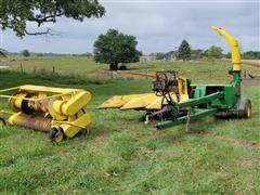 John Deere 3970 Pull Type Forage Harvester