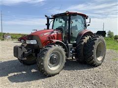 2014 Case IH Maxxum 125 MFWD Row-Crop Tractor