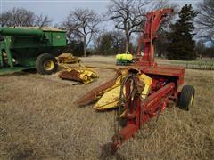 New Holland 718 Forage Harvester W/2 Row Cutter Head And Pick-up Head