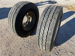 Bridgestone M870 Aluminum Rims W/Tires