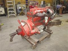 Perkins 354 Irrigation Engine & Rockford Clutch