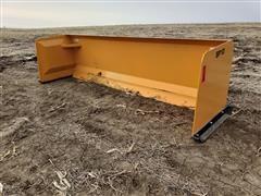 2020 Industrias America SP10 10' Wide Snow Pusher Skid Steer Attachment