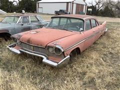 1957 Plymouth Belvedere 4 Door Sedan
