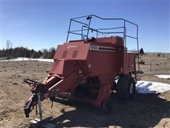 1996 Hesston 4755 Big Square Baler
