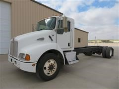 2008 Kenworth T300 S/A Cab And Chassis