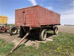 Electric Wheel 650 Wood Wagon W/Lundell Hoist