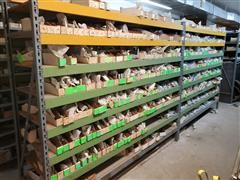 Misc. Types & Sizes Of Fittings & Shelving