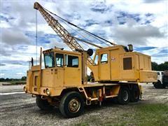 Little Giant LG4864 Truck-Mounted Dragline Crane