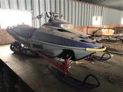 2002 Polaris RMK800 Snowmobile (INOPERABLE)