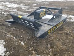 2020 Agrotk Brush Cutter Skid Steer Attachment