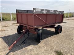 Hydraulic End Dump Wagon