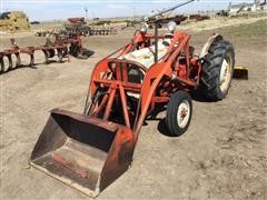 1955 Ford 850 2WD Tractor W/Loader
