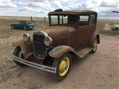 1930 Ford Model A Tudor Sedan Car