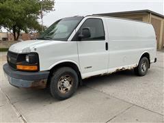 2004 Chevrolet Express G2500 4x2 Cargo Van