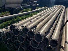 "Lindsay / Kroy 6"" Gated Aluminum Pipe"
