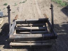 Tractor Mounting Bracket For Liquid Fertilizer Tanks