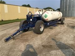 2019 Duo Lift LB2200 Running Gear W/Dual Anhydrous Tanks