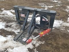 2020 Industrias America Easy Man Tree And Post Puller Skid Steer Attachment