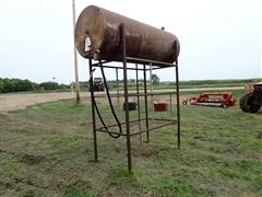 """Butler 38""""X8' Fuel Tank & Stand"""
