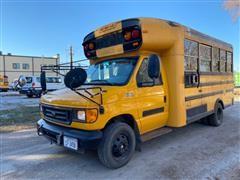 2005 Ford E450 Super Duty Cutaway 14 Passenger School Bus