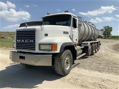 1998 Mack CL713 Quad/A Tanker Truck