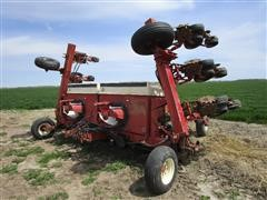 Case IH 950 12R30 Semi-Mounted Planter And 18 Cyclo Seed Drums