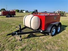 2021 Industrias Agricolas 700-Gallon T/A Fuel Trailer