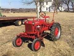 1948 McCormick Farmall Cub 2WD Tractor W/Attachments