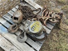 CM 8-Ton Chain Hoists
