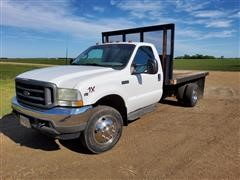2002 Ford 450XL Super Duty Flatbed Pickup