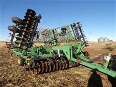 John Deere 726 Mulch Field Finisher