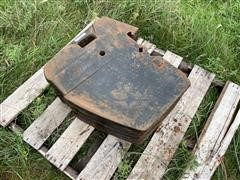 Case IH/New Holland TF-176 Suitcase Weights