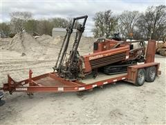1996 DitchWitch JT 920 Directional Boring Machine & T/A Trailer