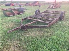 14' T/A Flatbed Trailer Chassis