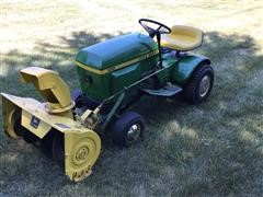 1967 John Deere 100 Lawn Mower W/Round Fenders