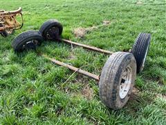 Trailer Axles W/ Tires
