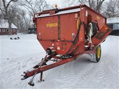 Schuler SRM262 Feed Wagon W/Scale