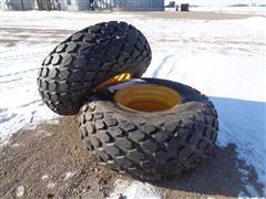Galaxy Compactor 23.1 26 R3 Tires & Rims